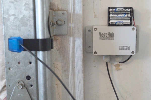 VegeHub Garage Door Sensor